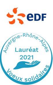 Lauréat 2021 voeux solidaires EDF